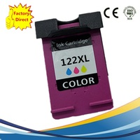 Color Ink Cartridges For HP 122 XL 122XL HP122 HP122XL Deskjet 1000 1050 2000 2050 2050s