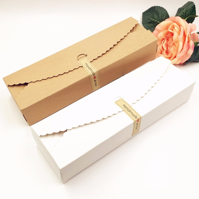 20pcs lot kraft gift boxes paper handmade candy chocolate packing