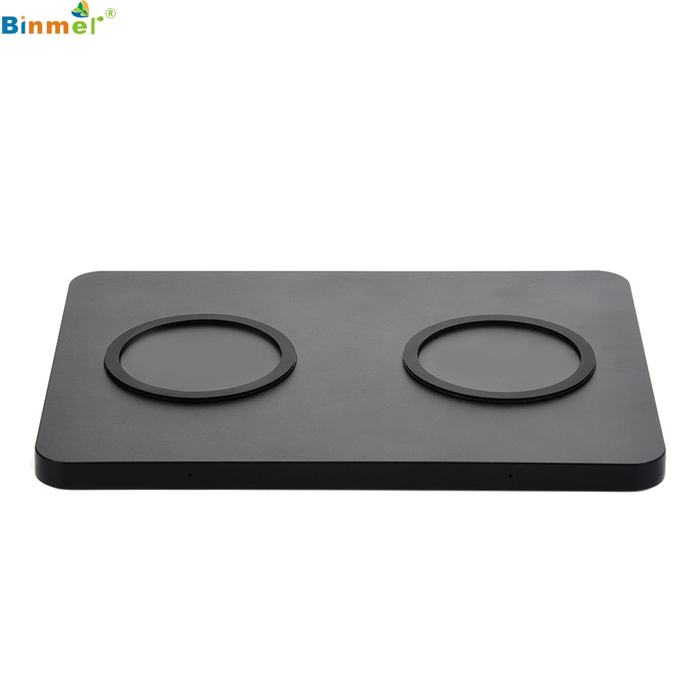 Accessories & Parts 100% True Binmer 5w Qibiao Qi Wireless Charger Input Voltage Dc 5v 500-1000ma European Standard Charging Seat For Samsung Galaxy S8 Plus