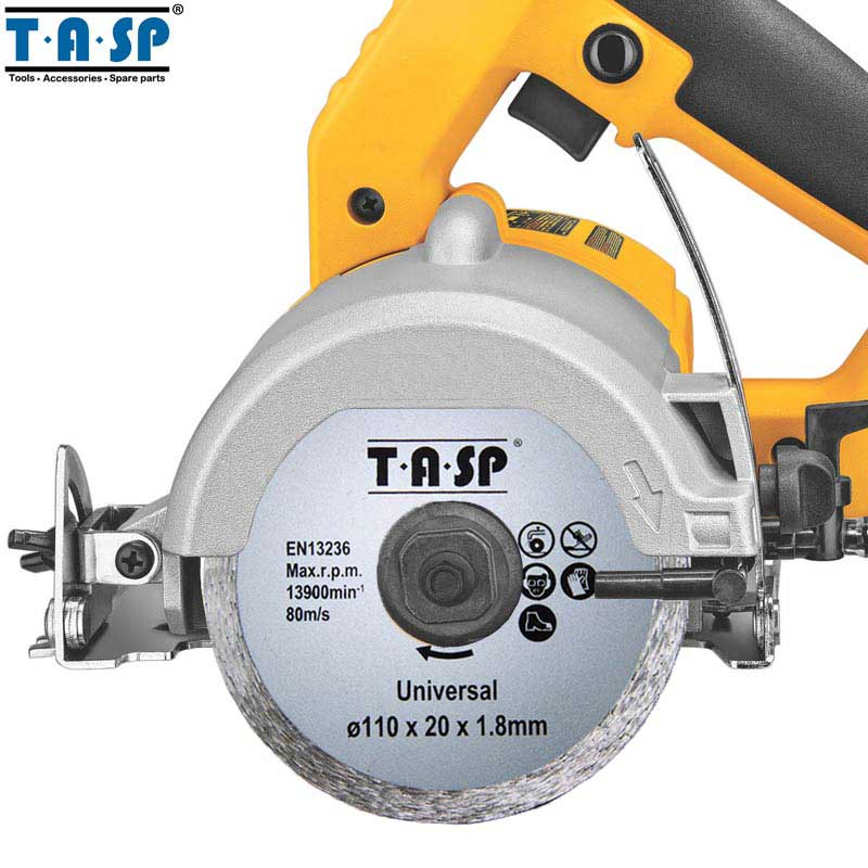 TASP 2pcs 110mm Diamond Cutting Disc 20mm Bore size Tile Cutter Marble Saw Blade for Brick Stone & Concrete - MDCD110WB berrylion diamond saw blade circular saw 114mm cutting disc wet diamond disc for marble concrete stone cutting tools
