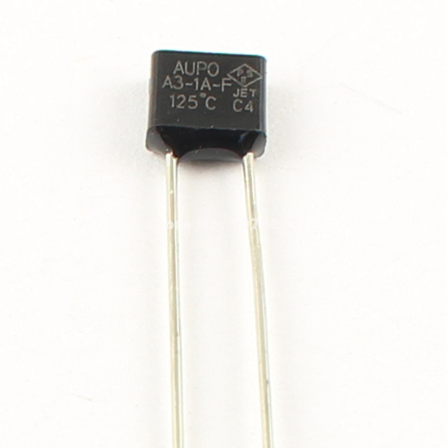 10Pcs Aupo Thermal Fuse TF Cutoff 117℃ 250V 16A BF117X