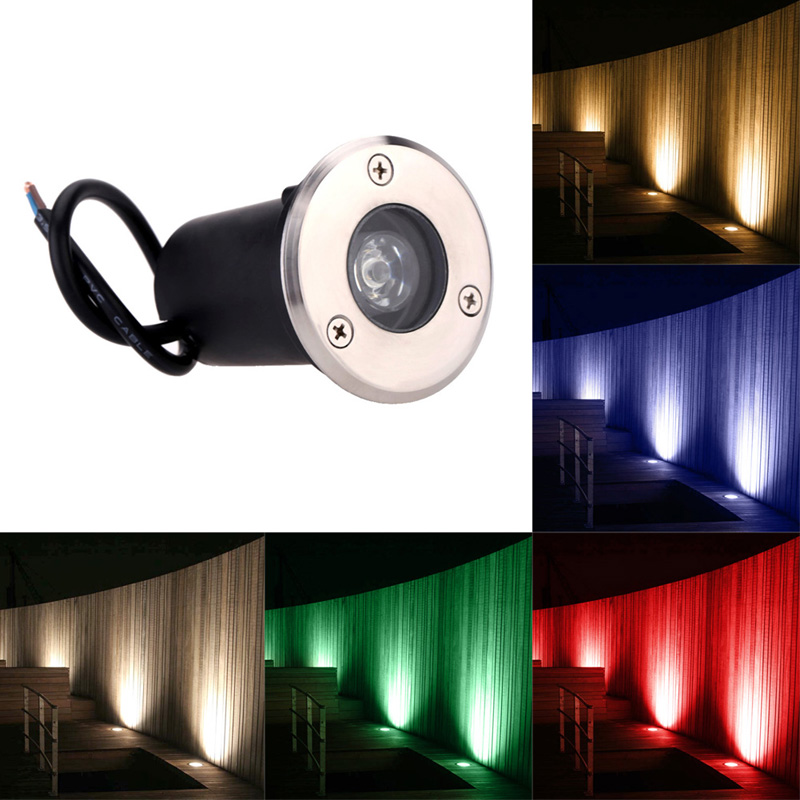 Led Underground Lamps Best Waterproof 1w 3w 5w Led Underground Light Lamp 12v/85-265vac Outdoor Garden Path Buried Yard Lamp Landscape Spot Lights At Any Cost Lights & Lighting