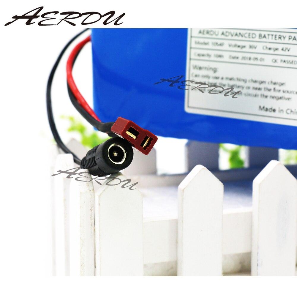 AERDU 36 v 10S4P 10Ah 500 w Haute puissance et capacité 42 v 18650 batterie au lithium pack ebike électrique de voiture vélo moteur scooter avec BMS - 6