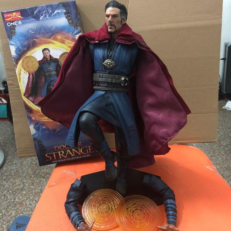 NEW Crazy Toys ONE :6 True Cloak DOCTOR STRANGE 1/6TH Scale Collectible Figure w Figurki i postaci od Zabawki i hobby na  Grupa 1