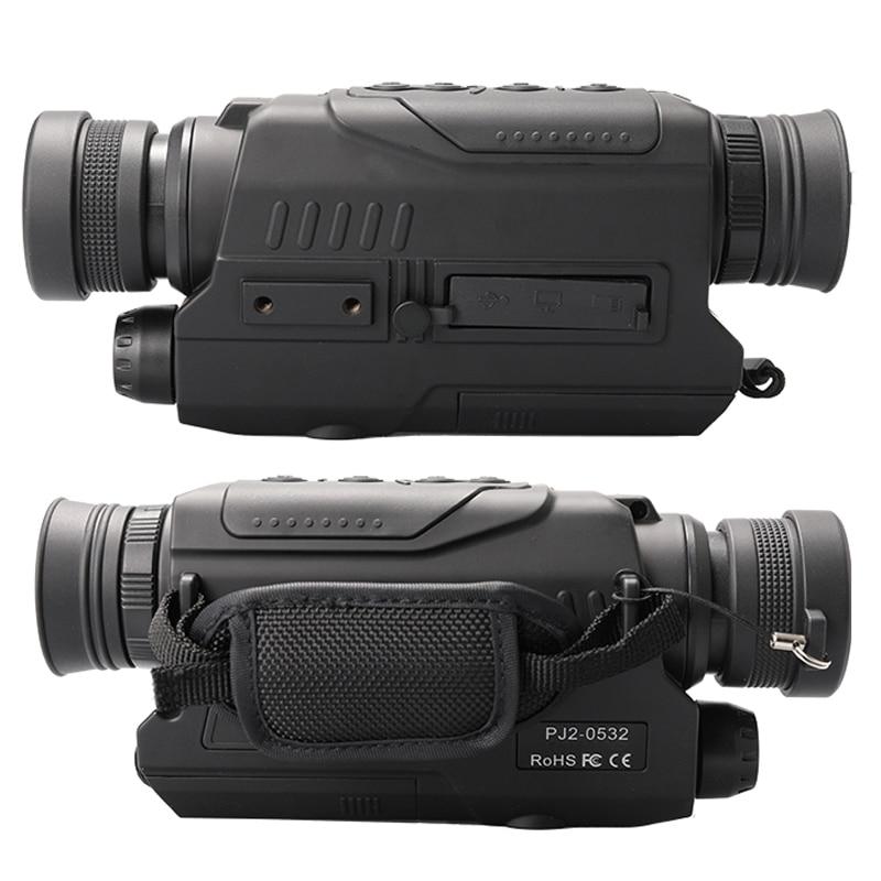 WILDGAMEPLUS WG532 Digitale low beleuchtung Monokulare Nachtsicht DVR Recorder Geräte 5x32 zoom Infrarot Nachtsicht Video Optik