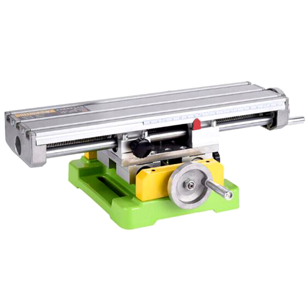 1PC BG6350 Operating Table Multi-function Mini Drill Support Bench Vise Fixture Adjustment Milling Machine mini multi function table saw bench drill grinding machine with 100w high power cutting machine tool accessories