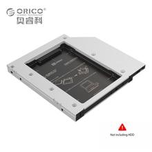 ORICO Алюминий SATA 3.0 2.5 дюймов жесткий диск HDD SSD Caddy Дело лоток для Lenovo ASUS HP Dell Acer Laptop12.7mm CD/DVD дисков слот