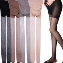 New Women Pregnancy Pantyhose Adjustable High Elastic Leggings Summer Maternity Ultra ThinTights Stockings Pregnant(China)