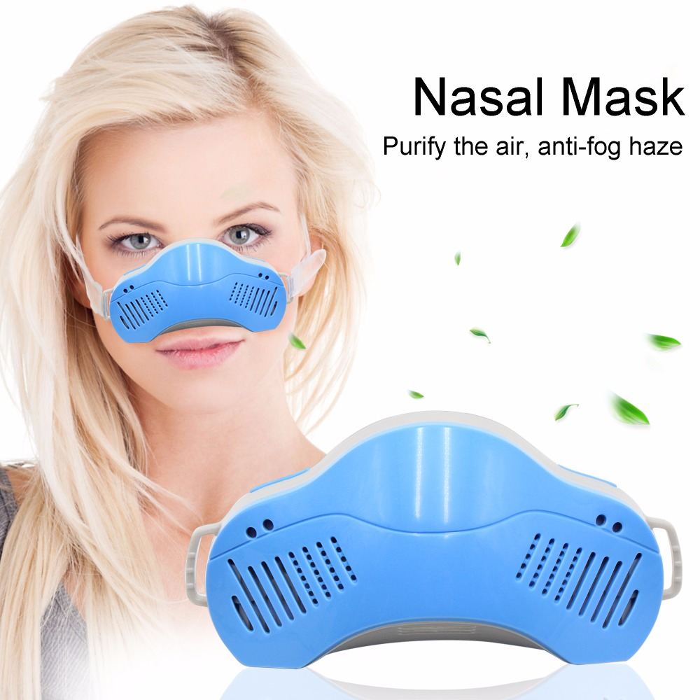 Nose With Dust-proof Anti-fog Haze Breathable Mask Prevent PM2.5 Dust-proof  Anti-allergic Rhinitis Masks Unisex 2pcs set lovers mask anti fog and haze anti pm2 5 breathable breathing valve couples masks dust masks pink blue 2pcs gm5217