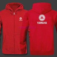Women And Men S Fashion YAMAHA Logo Print Hoodies Zipper Hoodie Sweatshirts Hoody Clothing