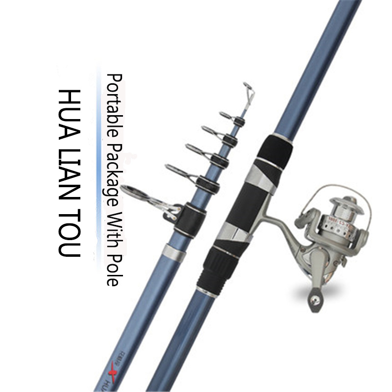 MX Surf Rod Telescopic Fishing Rod Spinning Casting Pole Portable Travel 80cm-92cm Fishing Rod Surf Rod 3.6M 4.2M 4.5M