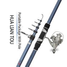MX Surf Rod Telescopic Fishing Rod Spinning Casting Pole Portable Travel 80cm-92cm Fishing Rod Surf Rod 3.6M 4.2M 4.5M