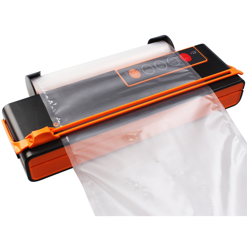 ATWFS Electric Vacuum Food Sealer Machine for Dry and Wet food Packaging with Automatic Cutting of Vacuum Bags including 10pcs Bags 4