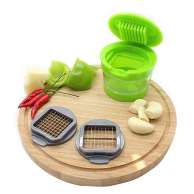 YFGXBHMX Garlic Chopper Multi function Garlic Clove