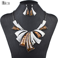 MS1504236 Fashion Jewelry Sets High Quality Woman's Necklace Earrings Sets For Women Wedding Multicolor Resin Party Gift