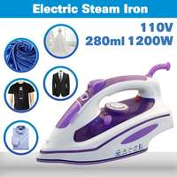 110V 1200W Portable Electric Steam Iron Steam Iron Clothes Irons Travel Electric Press Garment Small Compact