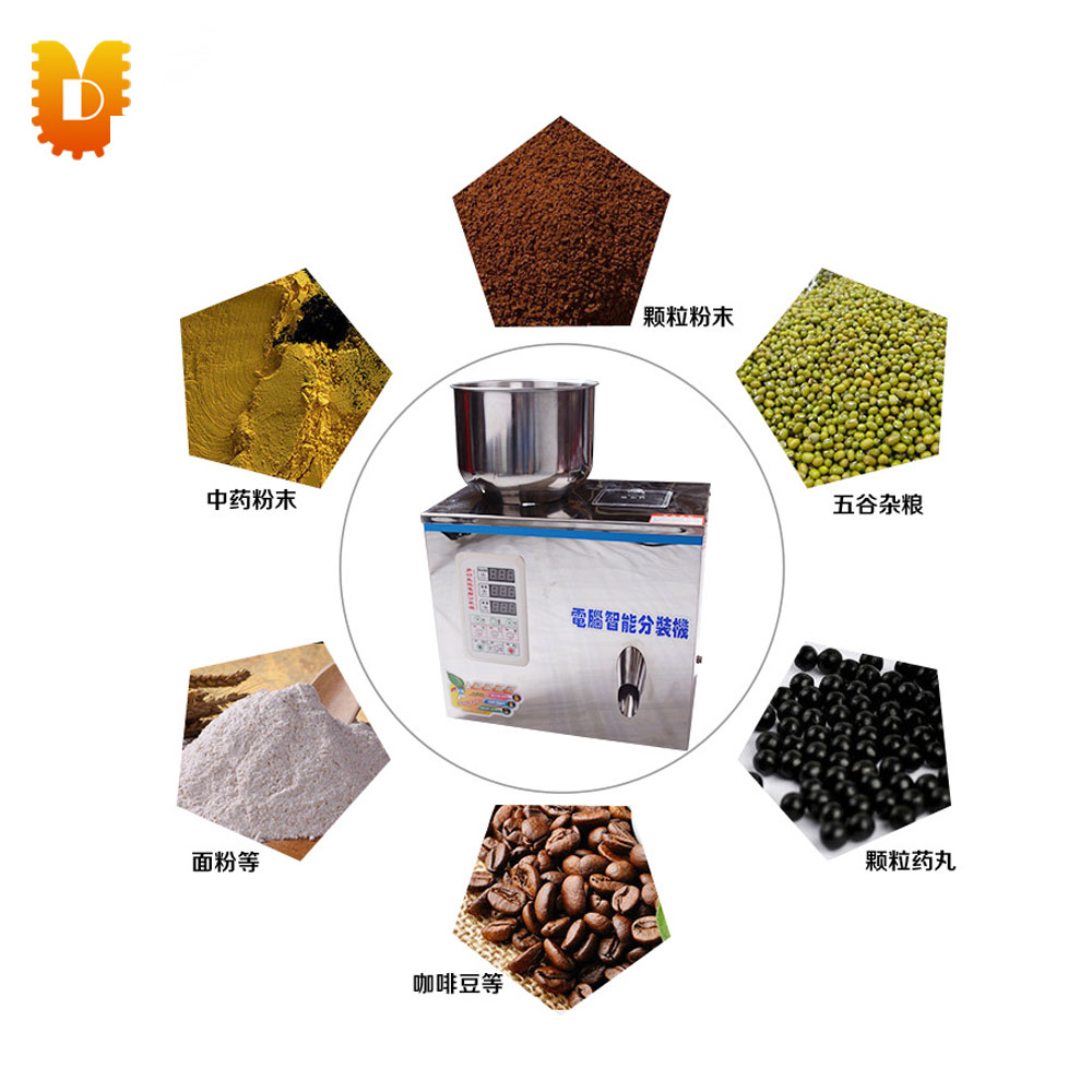 2-100g Automatic Power Pellet Grain Corn Weighting And Filling Machine