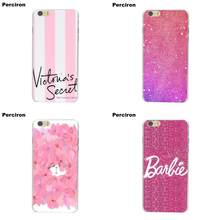 Perciron Pink Sugar Glitter Love Cute For Apple iPhone 4 4S 5 5C SE 6 6S 7 8 Plus X For LG G3 G4 G5 G6 K4 K7 K8 K10 V10 V20(China)