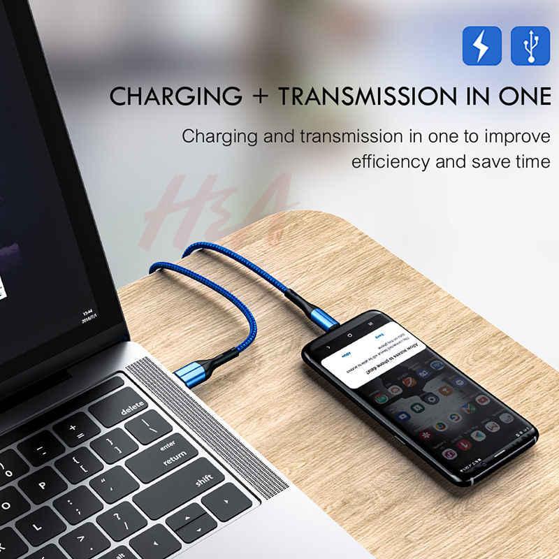 H&A Micro USB кабель зарядное устройство для samsung Galaxy S7 S6 Быстрая зарядка мобильный провод для зарядного устройства для huawei Tablet usb-шнур