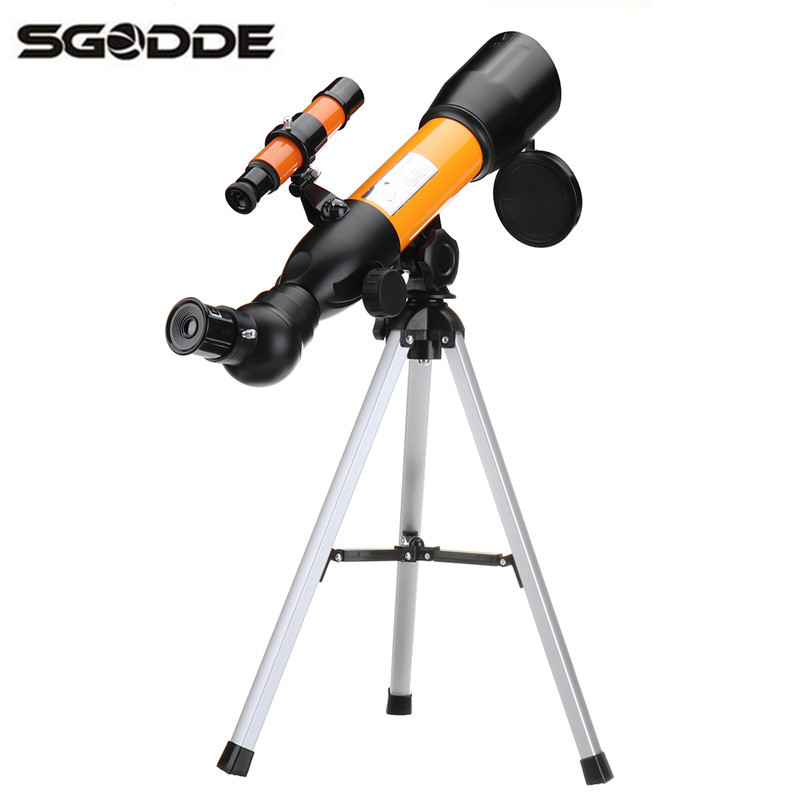 где купить F36050N Monocular 360*50mm 120x Aluminum Zoom Astronomical Telescope Space Spotting Scope With Portable Tripod Gifts for Friends дешево