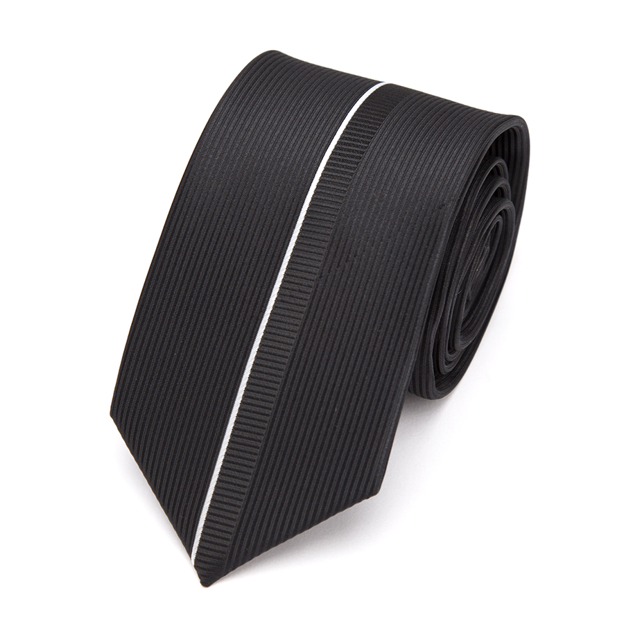 Mens Ties Black Luxurious Necktie Formal Business Wedding Bowtit Fashion Jacquard 6cm Ties For Mens Dress Shirt Accessories Tie