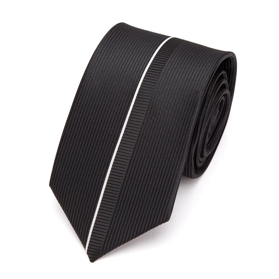 Mens Ties Black Luxurious Necktie Formal Business Wedding Bowtit Fashion Jacquard 6cm Ties for Mens Dress Shirt Accessories Tie