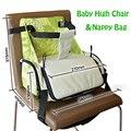 Comedor de bebé Silla Alta Para Niños Cochecito Pañal Bolsa de Pañales Juguetes Colector Heighten Messager Bolso de Las Señoras bolsa de silla de paseo bebes