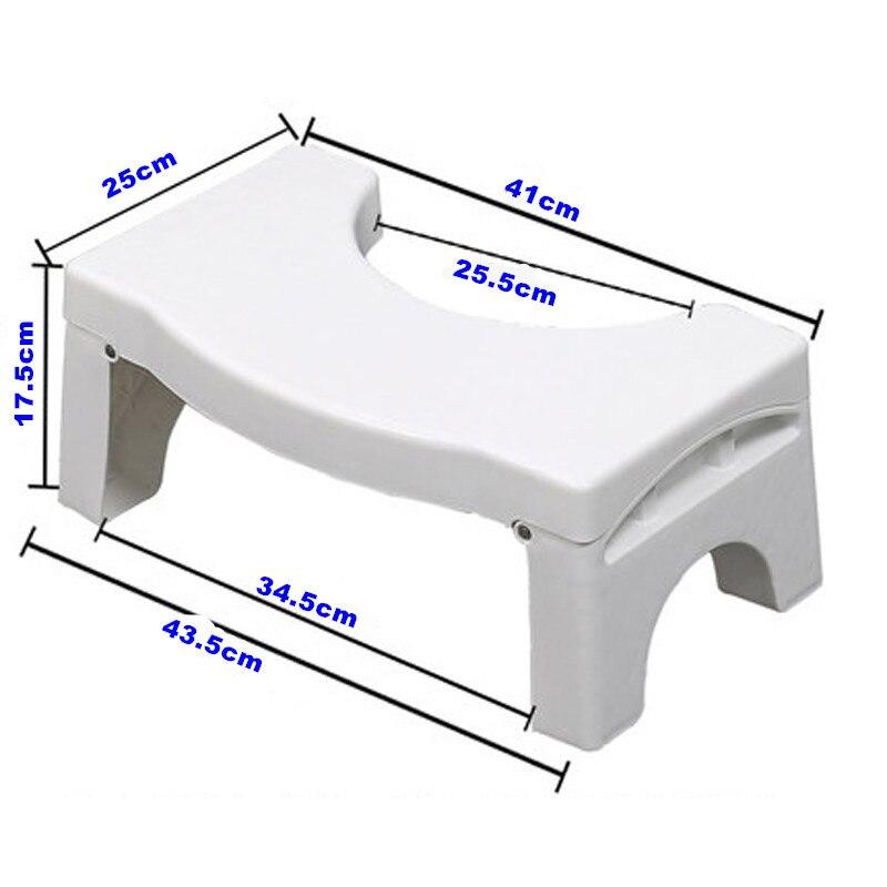 Multi-Function Folding Toilet Stool Bathroom Potty Toilet Squat Proper Posture HUG-Deals