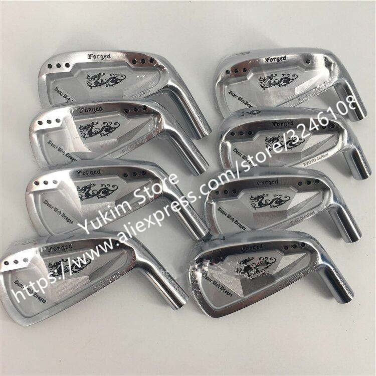 Right Hand Golf Clubs Dance With Dragon Forged Iron Set Silver  Golf Forged Irons 3-9Pw   free shipping matisse dance with joy