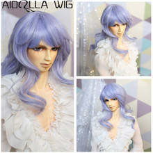 Bjd Doll Wig Hair Size 1/3 1/4 1/6 High-temperature Wig Bjd Doll Lovely Wig in Beauty doll accessories 1 3 1 4 bjd wig doll hair long curly wavy wig multicolour available high temperature wire wig wool fa15