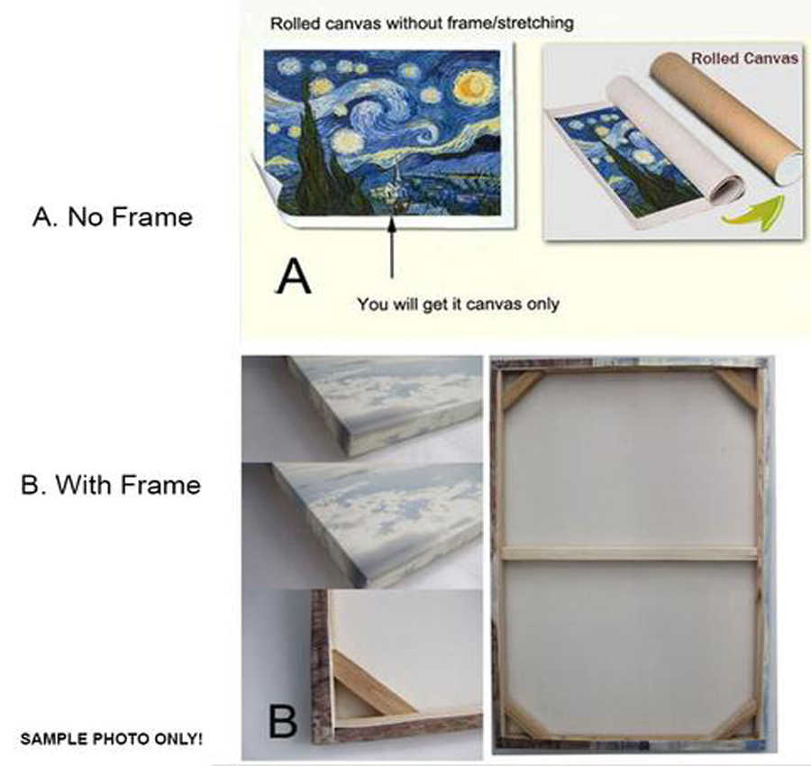 المنزل ديكور وحدات قماش صورة 5 قطعة كريجان ستاركرافت لعبة اللوحة ملصق جدار للمنزل الفن قماش اللوحة بالجملة