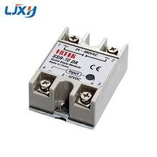 Solid-State-Relay LJXH 10DA 25DA 40DA 75DA DC-AC SSR 3-32vdc-Input/24-380vac-Output