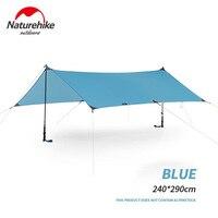 Naturehike 15D Nylon Camping Shelter Waterproof Portable Ultralight Camping Hiking Outdoor Beach Tent PU 2000+