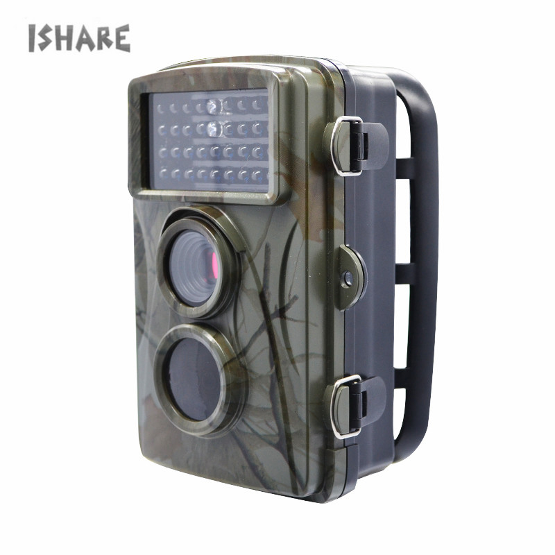 Hunting Camera 12MP 1080P 2.4HD Low Glow Infrared Outdoor Shooting Digital Trail Camera Game Wildlife Cameras Trap Waterproof