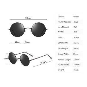 Image 4 - KANASTAL Metal Steampunk Güneş Gözlüğü Polarize Oval Ayna Steampunk Yuvarlak Güneş Gözlüğü Erkek Kadın Polarize sürüş gözlükleri UV400