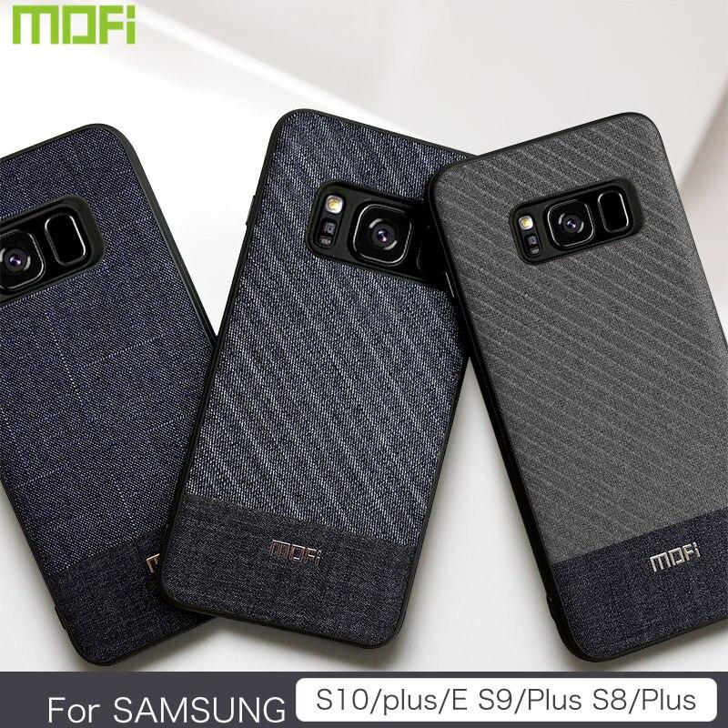 Para samsung s10 plus caso mofi para samsung s10 caso galaxy s10 lite caso capa terno de volta capa para samsung s9 plus s8 mais