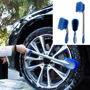 Image 1 - Car Tyre Cleaning Brush Washing Tool Tire Duster Multi Functional Long Handle Car Wheel Brush