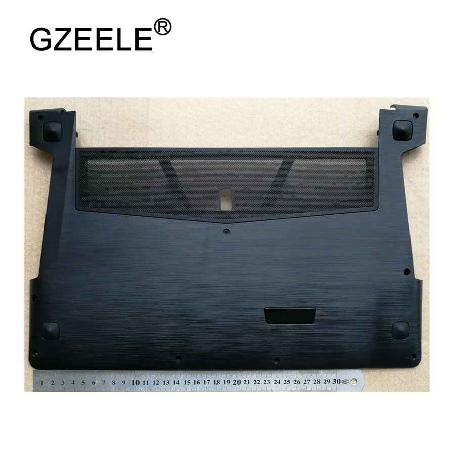 GZEELE used laptop Bottom <font><b>case</b></font> cover For <font><b>lenovo</b></font> for Ideapad <font><b>Y500</b></font> Y510P Bottom <font><b>Case</b></font> Cover Door AP0RR00090 90201985 image