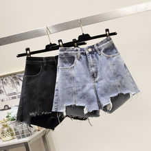 2019 New Arrival Summer Sexy Shorts Jeans For Women Streetwear Mid Waisted Denim Women Jean Hot Feminino