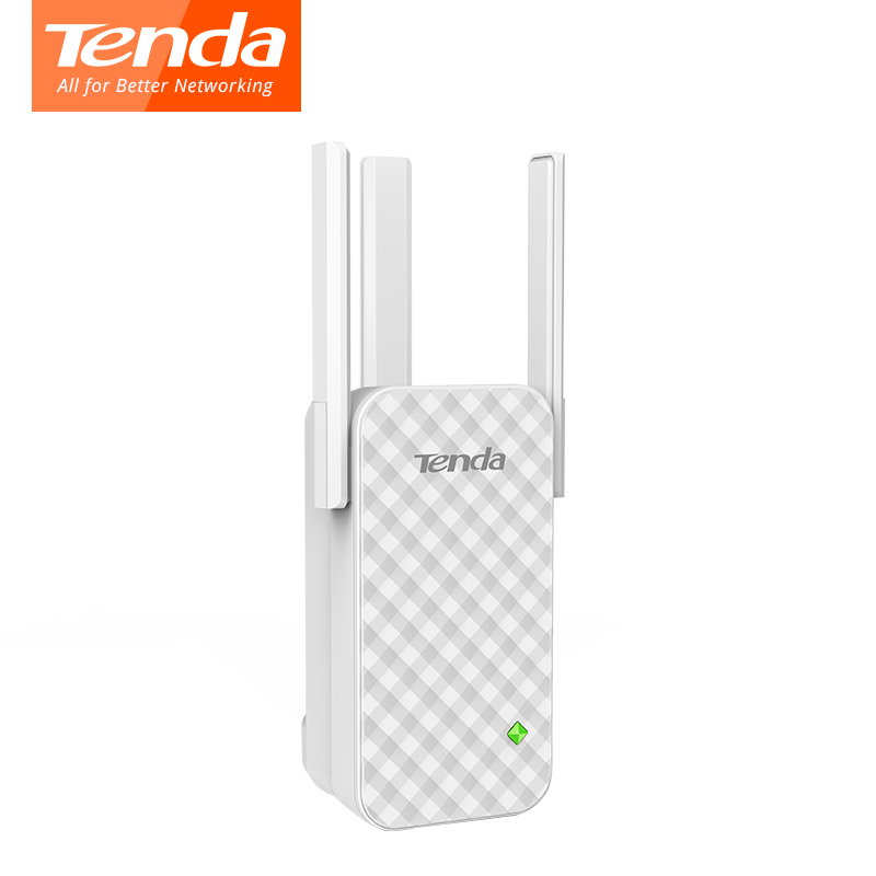 Tenda A12 300Mbps Wireless router Range Extender Repeater Signal Booster 3 Antenna Full house cover expander router