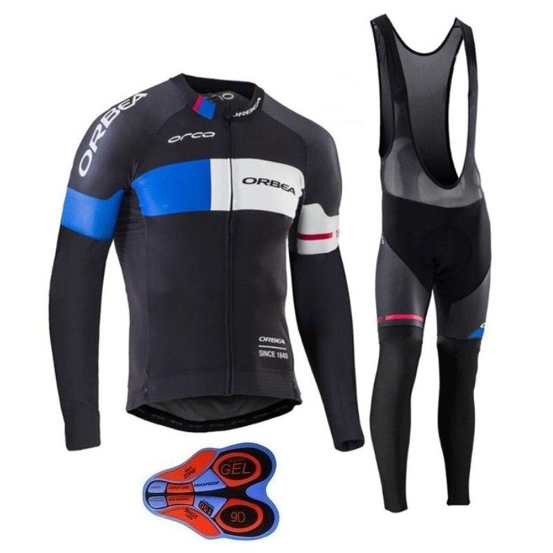 2017 NEU!!! Pro Team ORBEA Radfahren Kleidung mit Langen ärmeln Herbst dünne Mem radtrikot mtb Ropa Ciclismo Zyklus Sportbekleidung