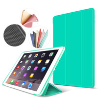 Smart Case For Ipad Air2 Flip Ultra Thin Stand Cover Case For Apple IPad 6 PU