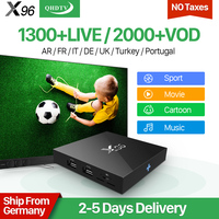 X96 Android 6 0 IPTV French Box VIP Arab Sports Belgium France Netherlands IPTV Subscription 1