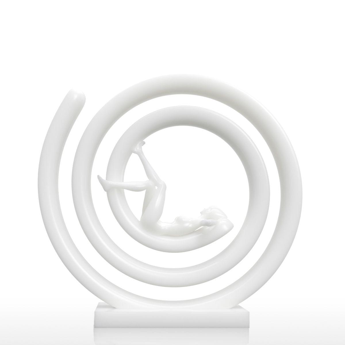 Tooarts Tomfeel 3D Дизайн человеческого тела женщина фигурка 3D печатных фигурка современные Craft подарок для украшения дома