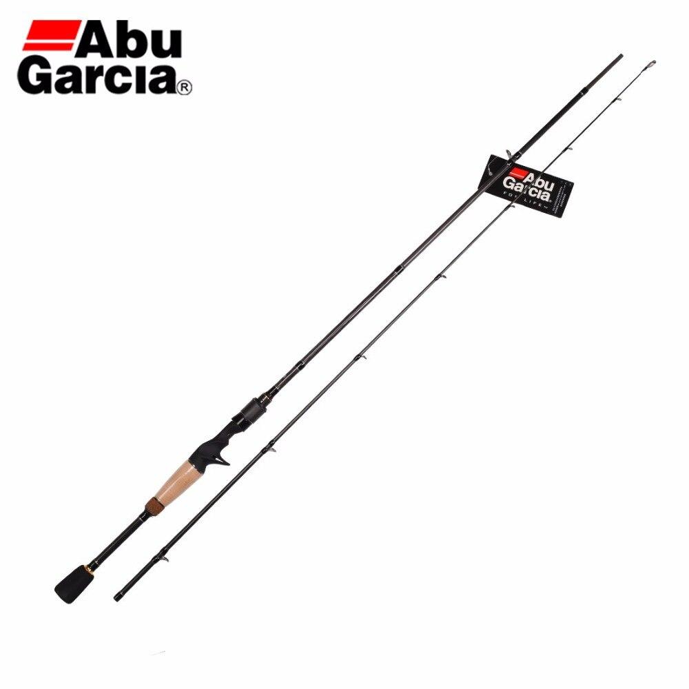 Rod Fishing-Rod Baitcasting Abu Garcia Two-Sections-M VILLAIN Carbon VLC662M VLC702M