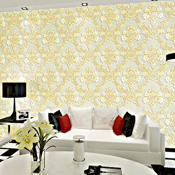 Nice Black And White Damask Wall Art Images - Wall Art Design ...