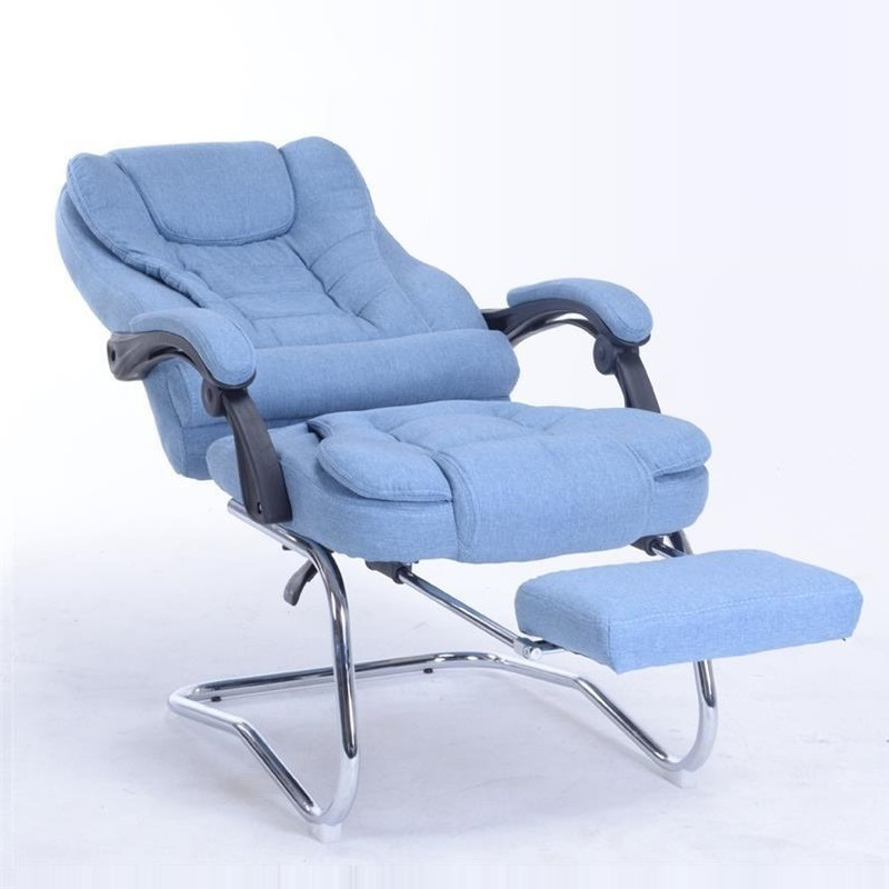 Fabric computer office home lunch break boss chair special stool bow conference the boss chair conference reception negotiation of large chair recreational office leather chair
