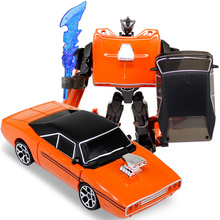 Classic Toy Transformation  Robot Vintage Cars Model Anime Series Alloy Action Figure Toys Transformation Robot Car Model Toy