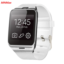 """GV18 Neueste NFC Smart Uhr 1,55 """"bluetooth smartwatch telefon unterstützung nfc 1.3mp cam sync anruf sms für samsung android pk dz09"""