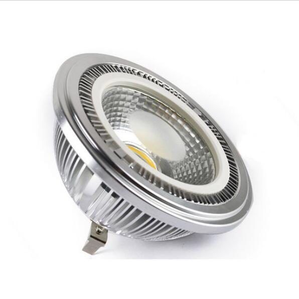 Factory price high CRI Ar111 7W LED Bulb DC12V COB LED Spot Light G53 led downlight